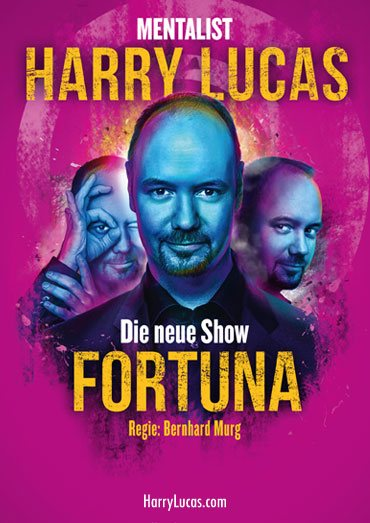 Plakat Harry Lucas Show Fortuna